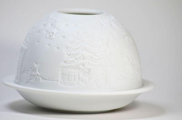 bernardaud unglazed white porcelain tea light holder limoges france frances o 39 connor. Black Bedroom Furniture Sets. Home Design Ideas