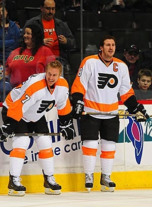 Jeff Carter and Mike Richards - miss them!!
