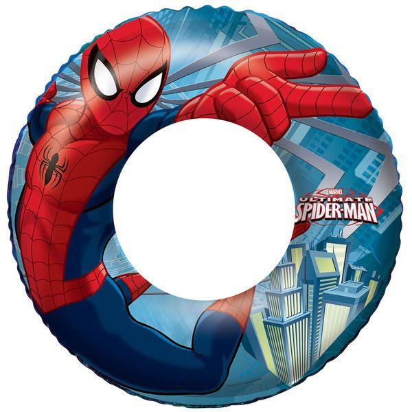 Bestway 98003 Круг для плавания 56 см Spider-Man, 3-6 лет   (36)