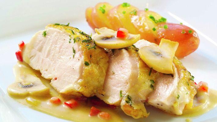 Kyllingfilet med smakfull saus - Kos - Oppskrifter - MatPrat