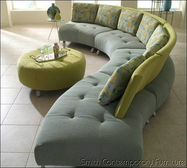 Artek Sectional By Lazar Allows You To Plug In 3 Different Fabrics Or A Mix  Of