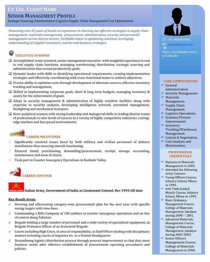 23 Senior Executive Service Resume Example in 2020