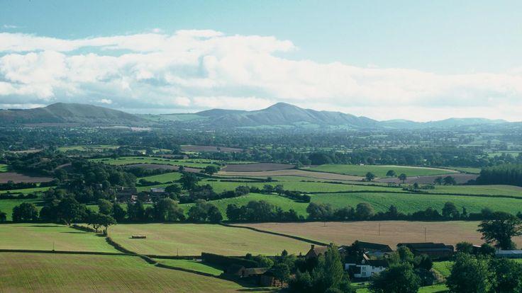 Lyth Hill landscape