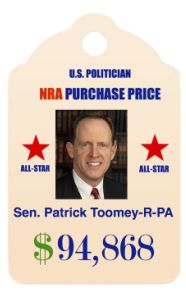 """""""pro-lifer""""; ALL STAR status as a top recipient of NRA cash. Co-authored Minchin-Toomey Amendment. Running for re-election."""