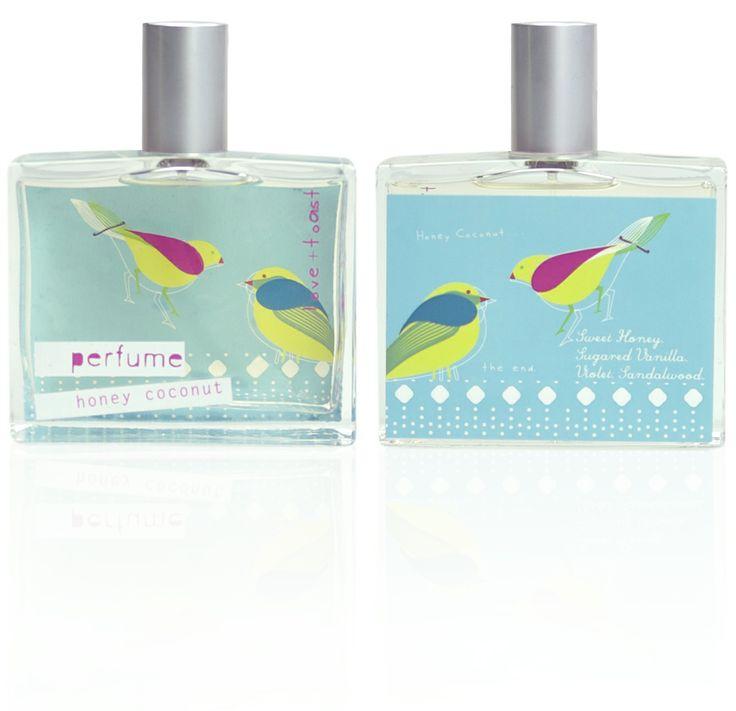 Love & Toast honey coconut perfume