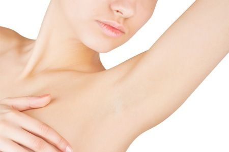 Learn how to get clean under arms naturally.