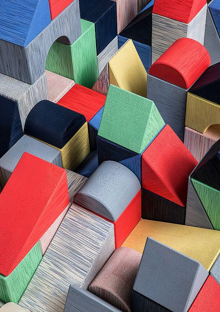 Ta.Ta. Unconventional Design For Kids: GEOMETRIC TOY BLOCKS By OutForSpace