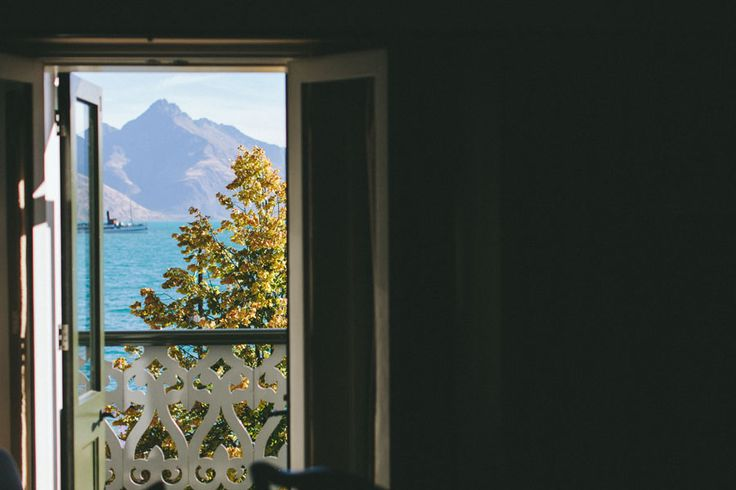 Luxurious Lake View Suite overlooking Lake Wakatipu and the TSS Earnslaw at Eichardt's