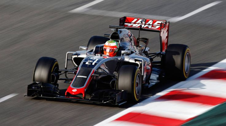 Day 2 results Esteban Gutierrez gives Haas F1 Team boost at Barcelona test