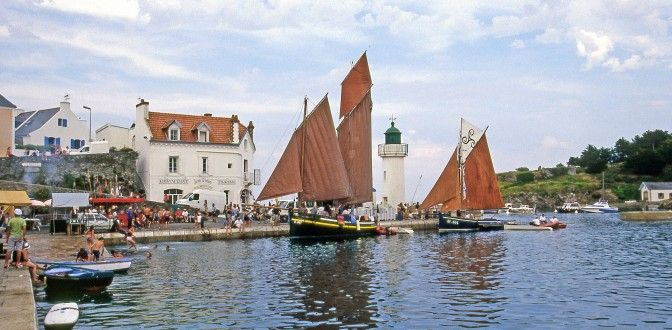 Découvrez le port de pêche de Sauzon à Belle-île en mer | Office de tourisme de Belle-Île-en-Mer