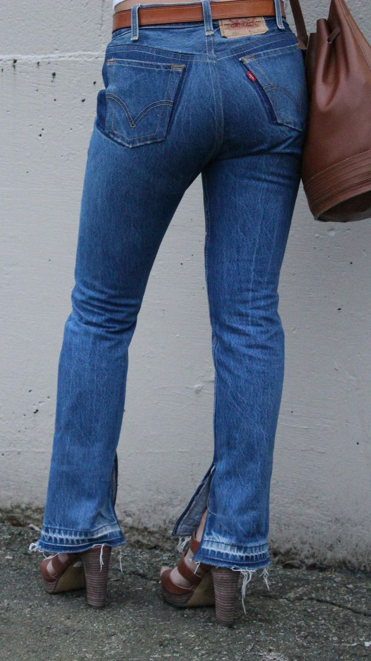 Reconstructed Vintage Levi's at www.thatsewcute.com