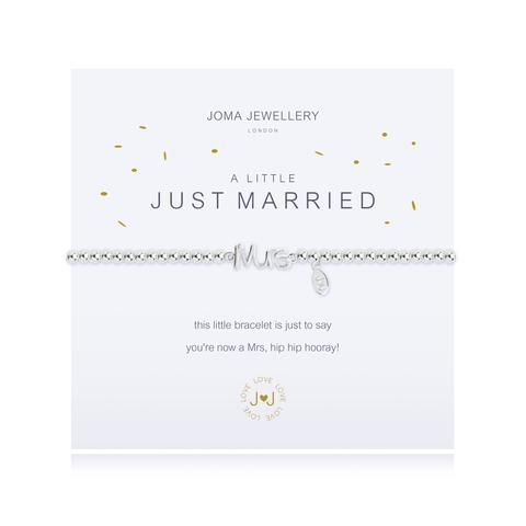A Little Just Married - SILVER PLATED BRACELET