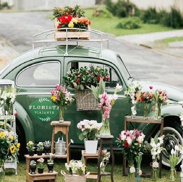 25+ Best Ideas About Flower Cart On Pinterest