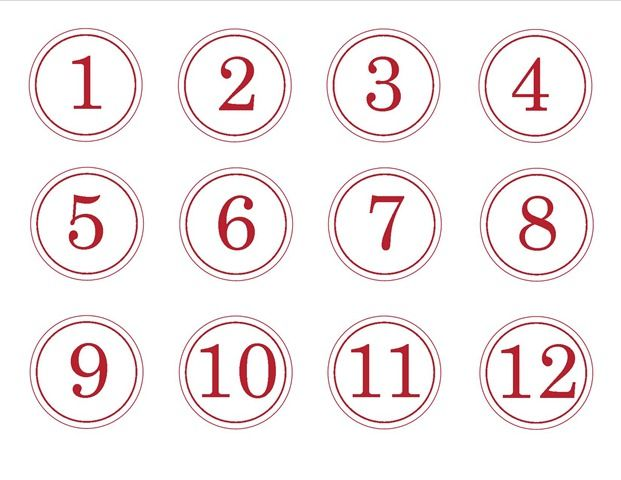 Best 25+ Free printable numbers ideas on Pinterest Preschool - numbers templates free