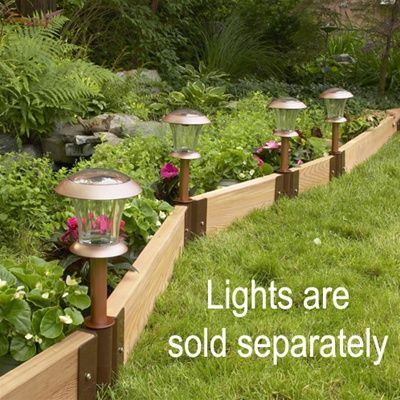 269 best images about edging yard garden on pinterest for Landscape timber projects free plans