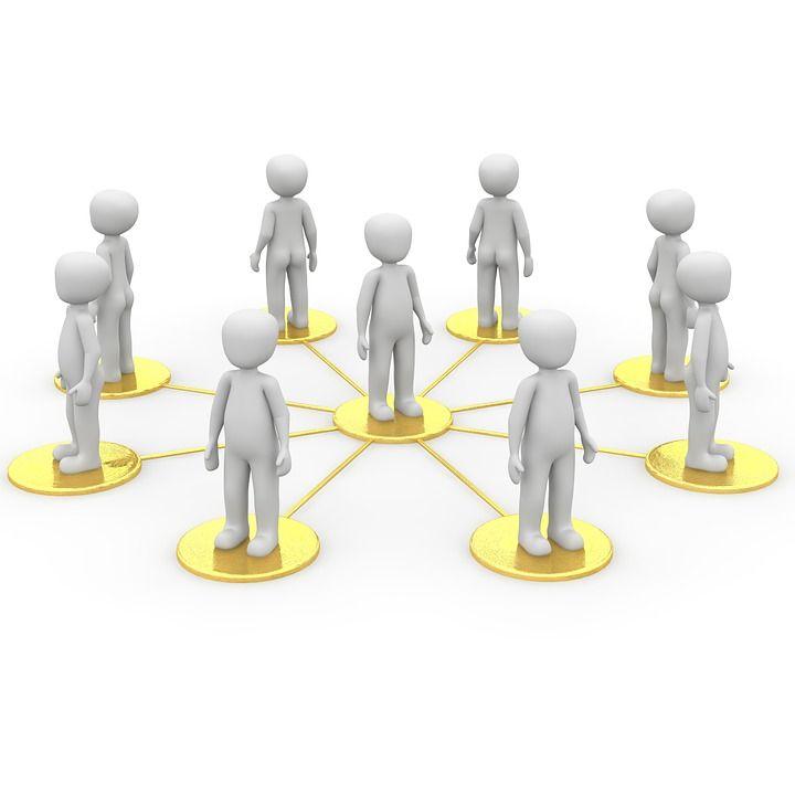 Nätverk, Samhället, Sociala, Gemenskap, Samarbete