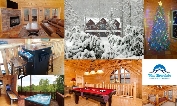 SMOKY MOUNTAINS / GATLINBURG / PIGEON FORGE / SEVIERVILLE / TN #vacation #SmokyMountains #cabin is available for #Christmas2017 12/21/17-12/26/17. Price per night, 5 nights min. tax, cleaning, $300 refundable damage deposit extra. 4 ensuite bedrooms, 4.5 baths, fireplace, pool table, hot tub, arcade, games, TVs in every room, full kitchen, grill, yard with firepit and more!.