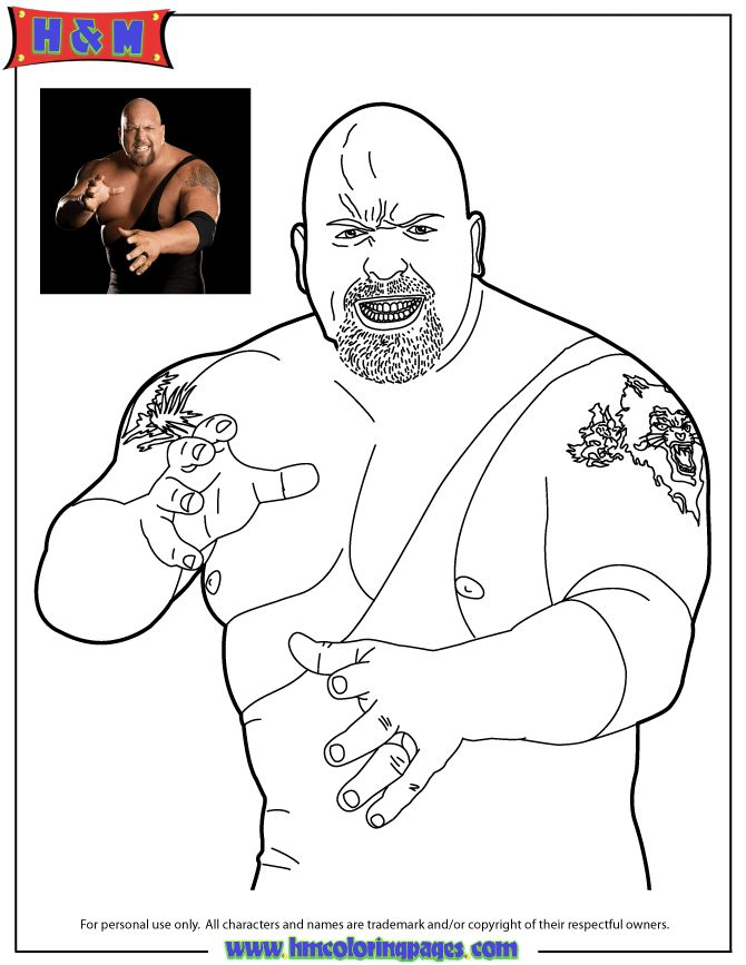 50 best WWE Coloring images on Pinterest Wwe party Colouring