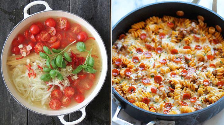 One pot pasta: Seks pastamiddager som gjør hverdagen enklere