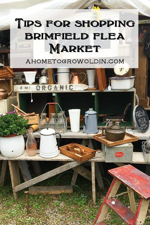 Great information and tips for anyone planning to visit the Brimfield Flea Market. You'll want to read this before you shop!