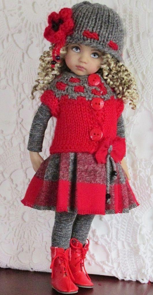Effner Queridinha bonecas artesanais Outfits by Divonsir Borges