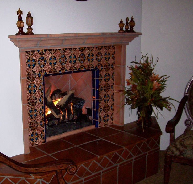 Mexican Tile Fireplace Designs | Home Design Ideas