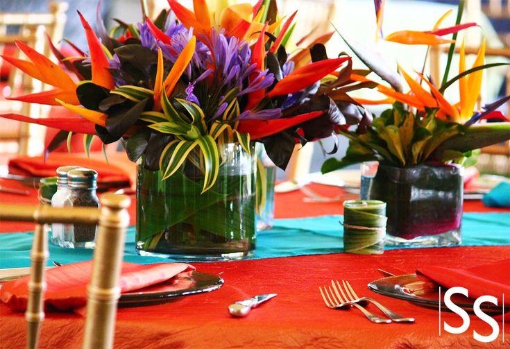 Evento con flores tropical / Tropical Flowers Event