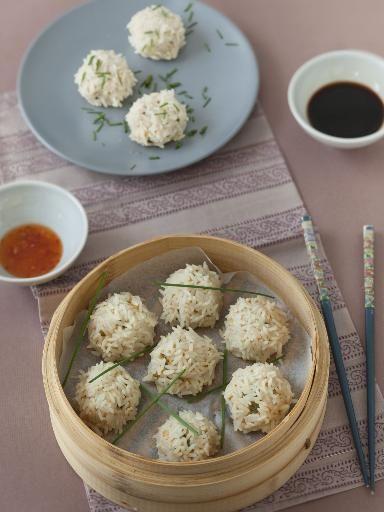 Boulettes de porc perlées (zhen zhu wan) - Marmiton