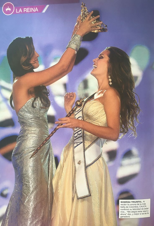 Michelle Rouillard Señorita Colombia
