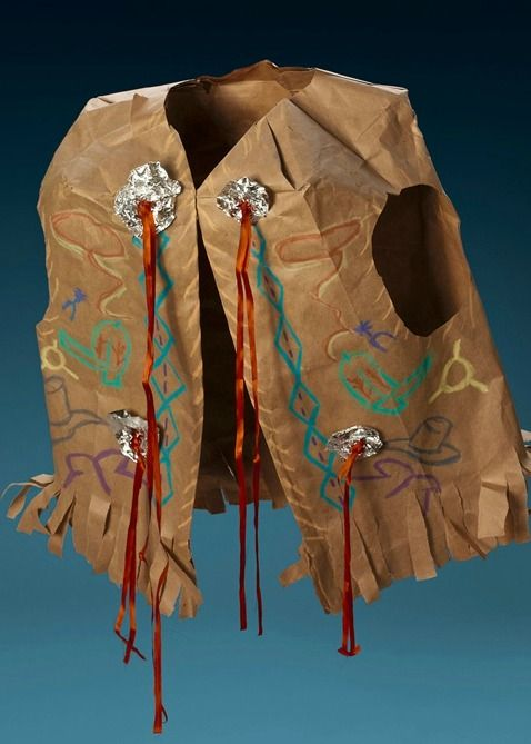 Head to the wild west with this homemade vest!