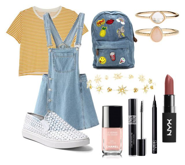"""#33"" by mercedes93 on Polyvore featuring moda, Monki, Steve Madden, Charlotte Russe, Accessorize, NARS Cosmetics i Christian Dior"