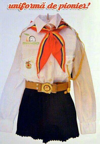 uniforma de pionier