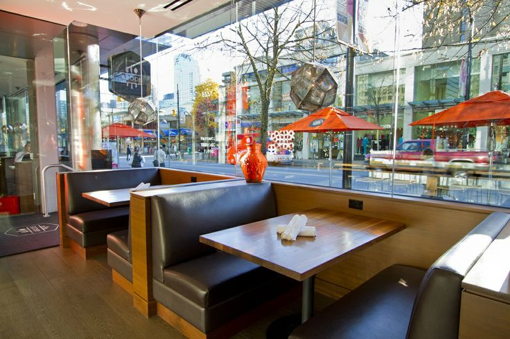 Don't forget about our fabulous patio this summer! Or, get drenched in sun in one of our window seats.
