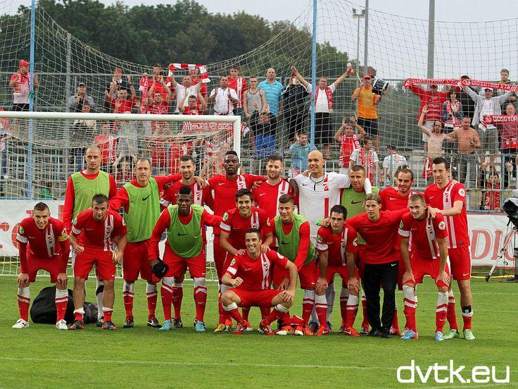 A pápai győzők  OTP Bank Liga 2013/2014 5. forduló: Lombard Pápa - DVTK 0-1 (0-0)