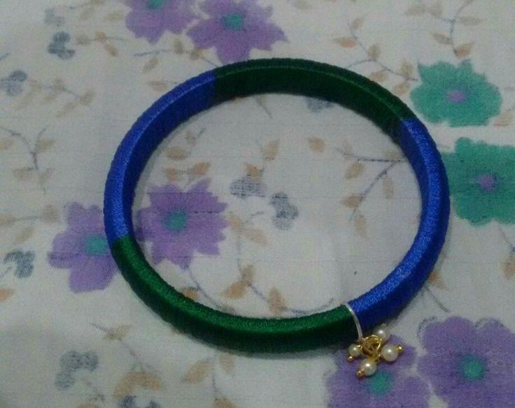 Blue n green bangle