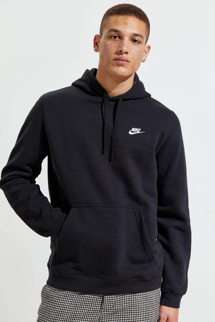 Nike Sportswear Club Fleece Hoodie Sweatshirt In 2021 Sweatshirts Hoodie Nike Hoodies For Men Hoodies [ 1103 x 736 Pixel ]