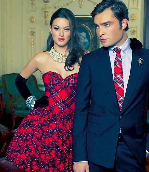 Leighton Meester and Ed Westwick; Gossip Girl