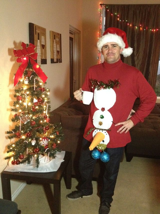funny ugly christmas sweater pictures, best ugly christmas sweaters