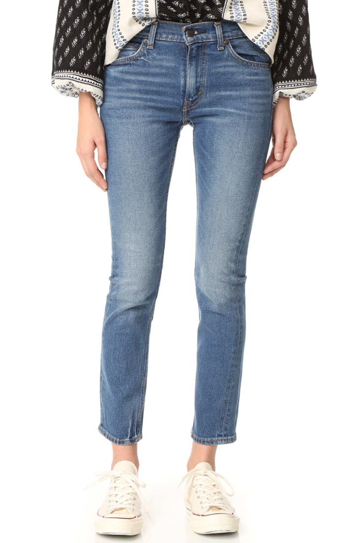 Levi's 505 C Cropped Jeans  $98