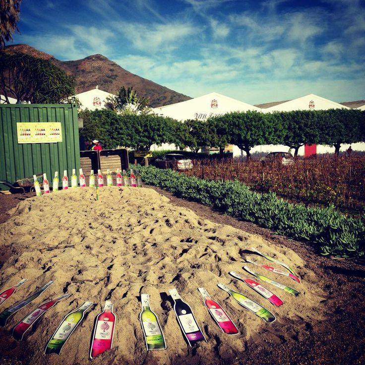 Wacky Wine Weekend Horse Shoe challenge with Tangled Tree.