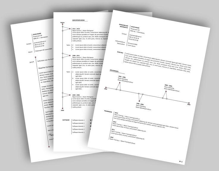 CV template 2021. Laat de lay-out van je CV pimpen en eventueel de tekst optimaliseren. www.mooicv.nl