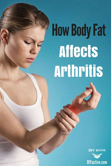 How Your Body Fat Affects Different Types of Arthritis? via @DIYActiveHQ #arthritis #health #bodyfat