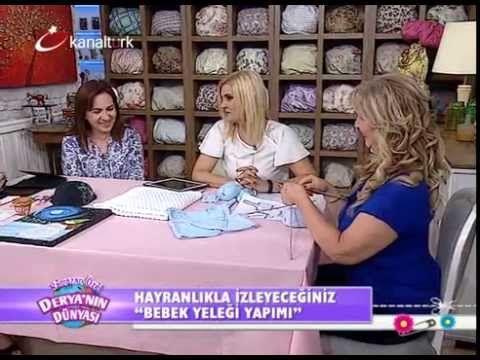 """Derya Baykal-Deryanın Dünyası-""""Bebek yeleği ve bebek battaniyesi yapımı""""..."""