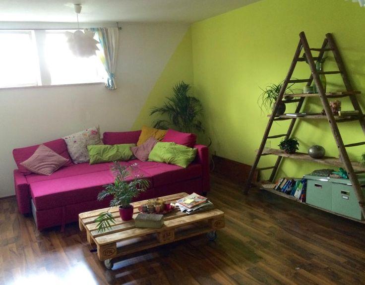 67 besten wohnen in farbe bilder auf pinterest | wohnen, farbe und, Wohnzimmer