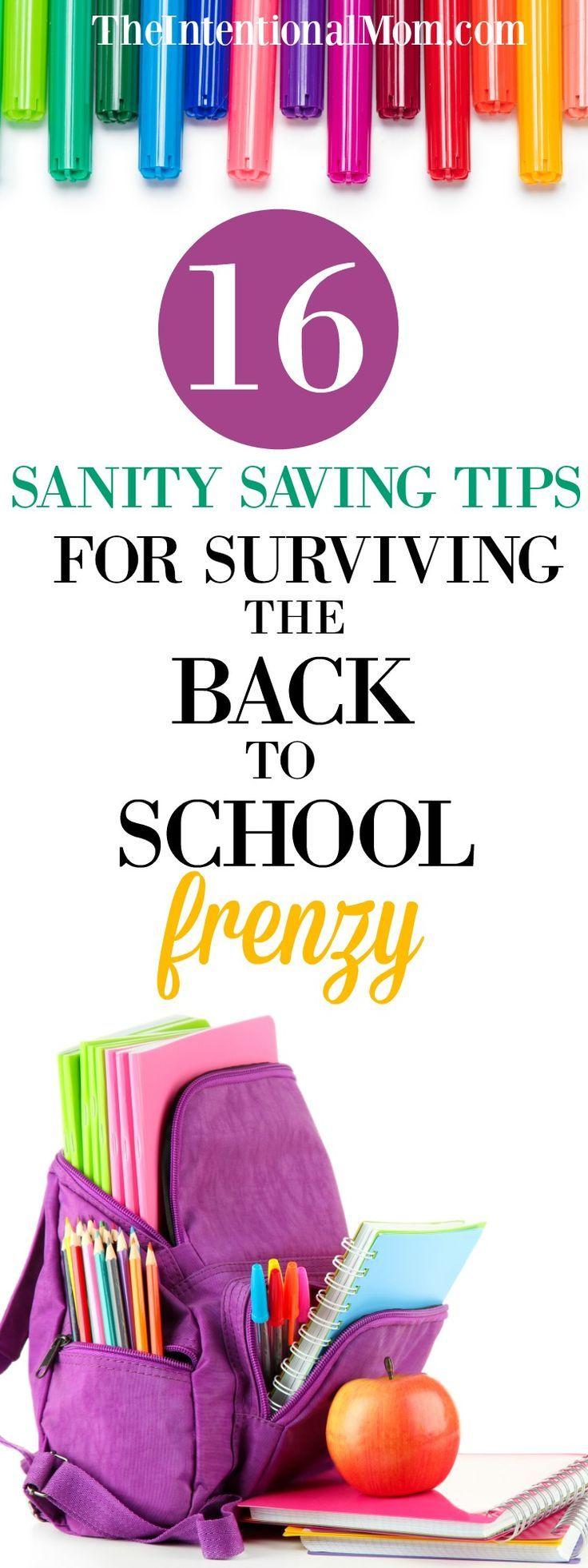 Back to School   Back to School Planning   Planning   Busy Families   Busy Mom   Time Management via @www.pinterest.com/JenRoskamp
