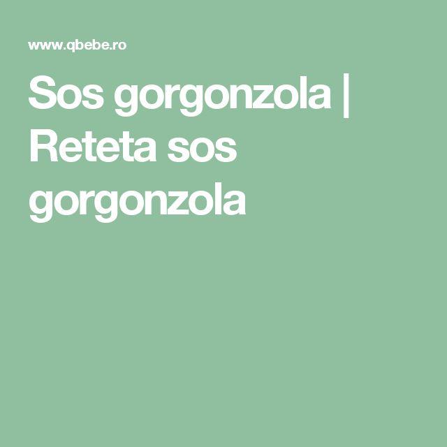 Sos gorgonzola | Reteta sos gorgonzola