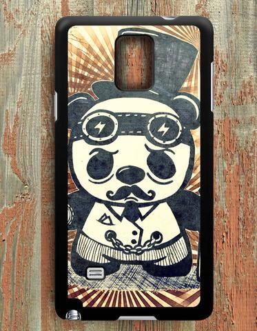 Steampunk Panda Art Samsung Galaxy Note 4 Case