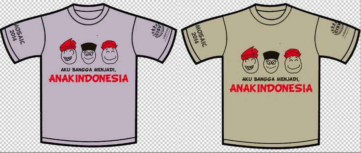 T-shirt design for Mosaic 2013