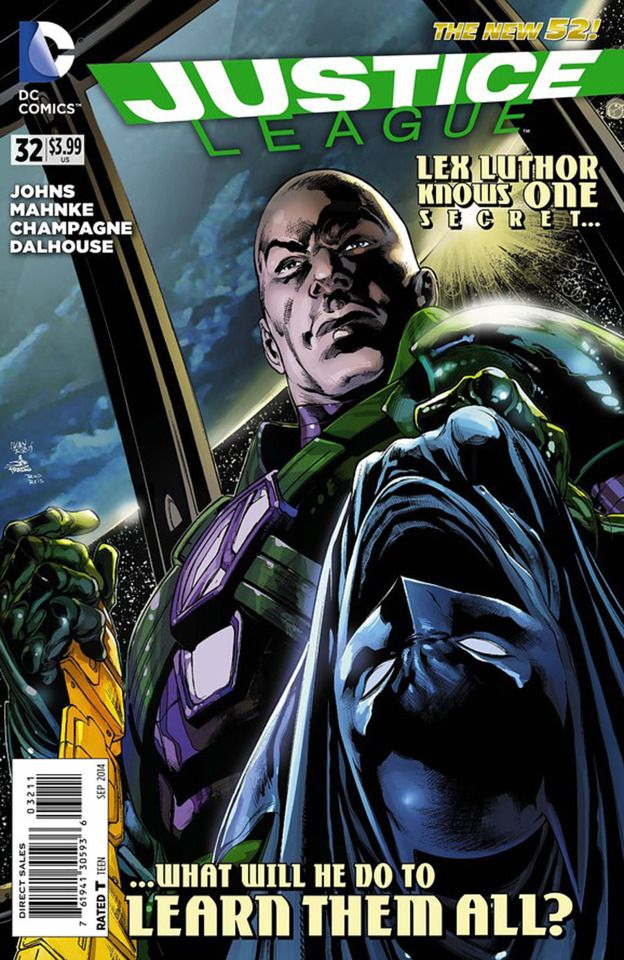Justice League 32 Injustice League Chapter Three Birth Issue Justice League Comics Comic Books
