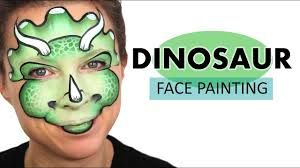 Image result for dinosaur face painting